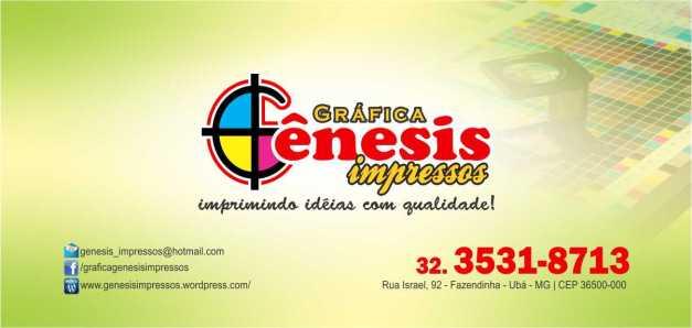 GRAFICA GENESIS IMPRESSOS - MAPA